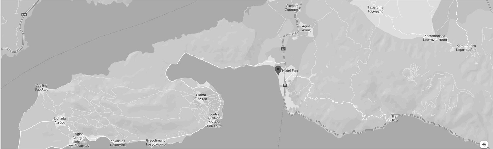 North Evia Map