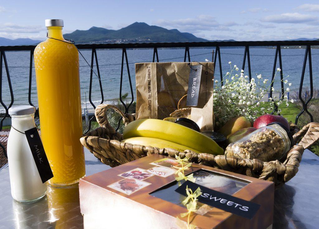 Fani Hotel Agios Nikolaos Edipsos - Superior Studios Sea View